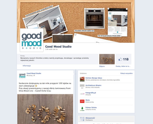 Good Mood Studio - Jesteśmy na Facebook'u
