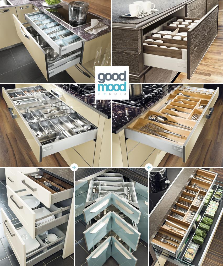 Good Mood Studio Organizacja przestrzeni w kuchni