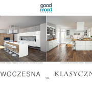 Good Mood Studio Kuchnia nowoczesna vs. klasyczna