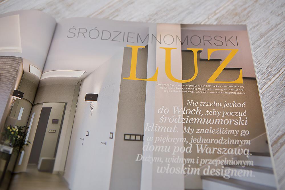 Good Mood Studio Mebli Kuchennych - Realizacja - Dom podWarszawą - Publikacja Villa VII-VIII 2015