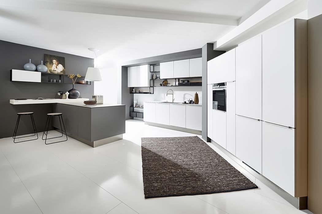 kuchnia nolte k chen model glas tec satin good mood studio. Black Bedroom Furniture Sets. Home Design Ideas