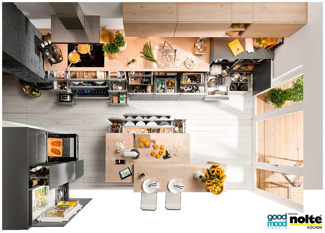 Projektowanie kuchni - Niemieckie meble kuchenne - Ergonomia wkuchni