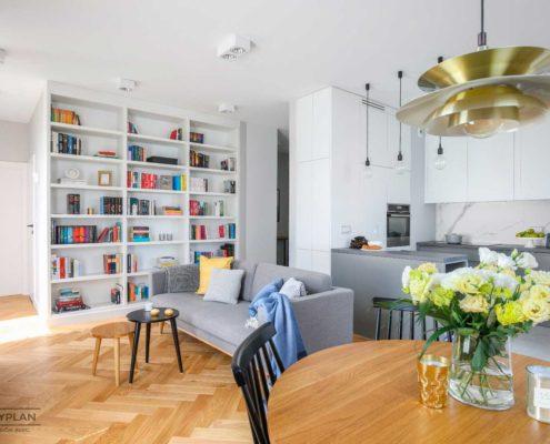 Mieszkanie w Warszawie - Produkcja mebli: Good Mood Studio